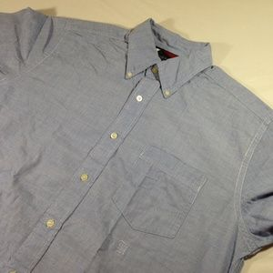 Tommy Hilfiger Mens Button Down Long Sleeve Shirt
